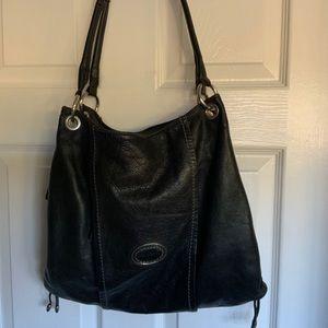 BLOW OUT❤️💜💚GIANNI BERNINI leather bag